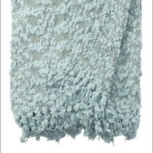 "Nordstrom rack Popcorn Throw Blanket 50"" x 60"""